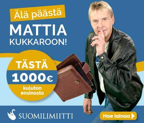 Suomilimiitti - 1000 € kuluton ensinosto